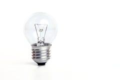 Ampoule d'isolement sur le blanc Images stock