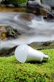 Ampoule de DEL Images libres de droits