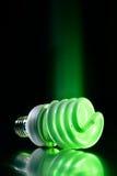 Ampoule de feu vert d'Eco photos libres de droits