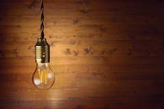 Ampoule de filament de LED images libres de droits