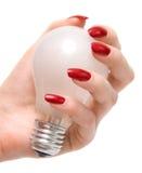 Ampoule de fixation image libre de droits