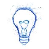 Ampoule de l'eau Image stock