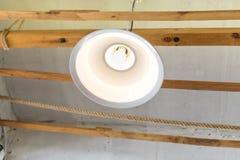 Ampoule de lampe de l'économie d'énergie LED Image stock