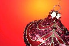 Ampoule de Noël images libres de droits