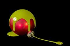 Ampoule de Noël Photographie stock libre de droits