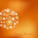 Ampoule de Noël Photos libres de droits