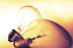 Ampoule de tungstène Photographie stock libre de droits