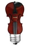 Ampoule de violon image stock