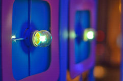 Ampoule deux verte Photos stock