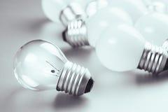 Ampoule différente Photographie stock