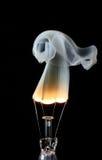 Ampoule et fumée Photo libre de droits