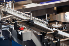 Ampoule filling and sealing machine Stock Photography