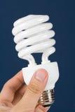 Ampoule fluorescente compacte Image stock