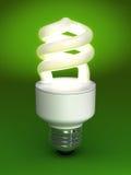 Ampoule fluorescente compacte Images stock
