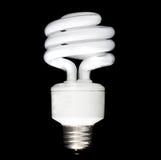 Ampoule fluorescente compacte Images libres de droits