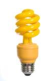 ampoule jaune-clair Images libres de droits