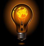 ampoule l'Europe Photo libre de droits