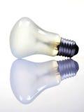 Ampoule laiteuse Photographie stock libre de droits