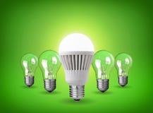 Ampoule menée illustration libre de droits