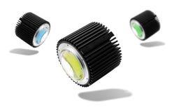Ampoule menée industrielle Photographie stock libre de droits