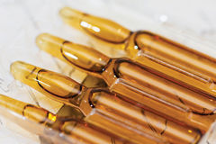 Ampoule, Phials stock photos