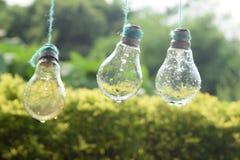 Ampoule pluvieuse photo libre de droits