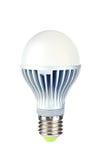 Ampoule puissante de l'économie d'énergie DEL Images libres de droits