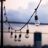 Ampoule sphérique Photographie stock libre de droits