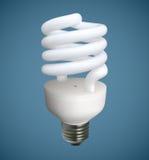 Ampoule spiralée Photographie stock libre de droits