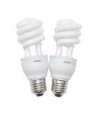 Ampoules économiseuses d'énergie Image stock