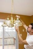 Ampoules économiseuses d'énergie Images stock