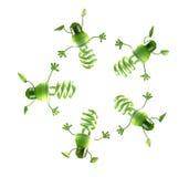 Ampoules économiseuses d'énergie Illustration Stock