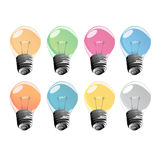 Ampoules Images libres de droits