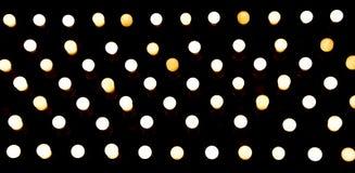 ampoules accrochant sur un endroit fixe Photo stock