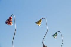 ampoules accrochant sur un endroit fixe Photo libre de droits