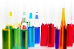 Ampoules colorées photos libres de droits