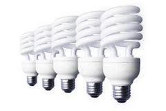 Ampoules courantes de la photo of5 image libre de droits