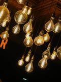 Ampoules décoratives de filament photographie stock