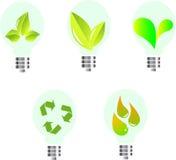 Ampoules d'Eco Images stock