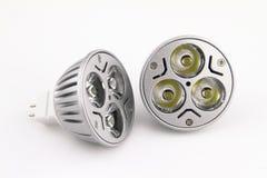 Ampoules de DEL Images libres de droits