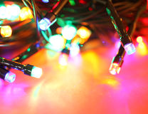 Ampoules de DEL Images stock