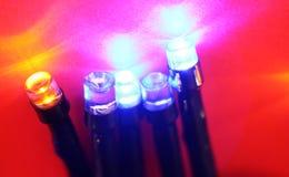 Ampoules de DEL Image stock