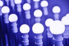 Ampoules de lampe de LED Photographie stock libre de droits