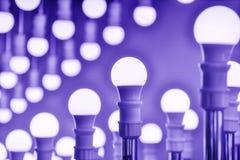Ampoules de lampe de LED Image stock