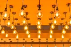 Ampoules de lampe de LED Images libres de droits