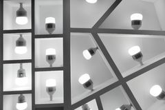 Ampoules de LED Image libre de droits