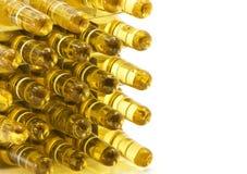 Ampoules de médecine de Brown Images stock