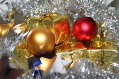 Ampoules de Noël image libre de droits