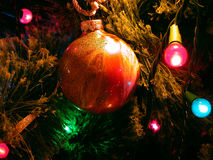 Ampoules de Noël Images stock