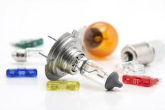 Ampoules de rechange d'automobile Photos libres de droits